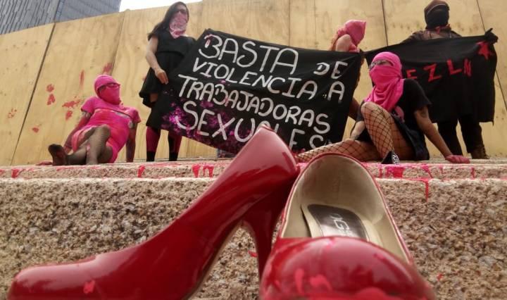 protesta-anarquistas-feminicidios Foto: Foro TV
