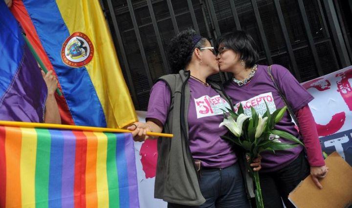 activistas LGBT Colombia